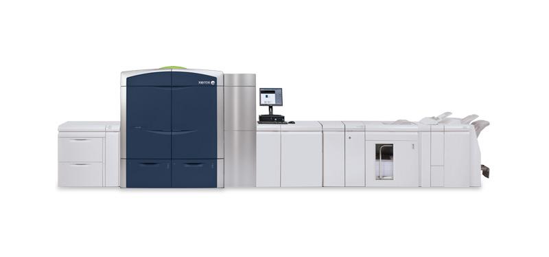 Produkčná tlačiareň Xerox® Color 1000, momentálne jediná svojho druhu na Slovensku.