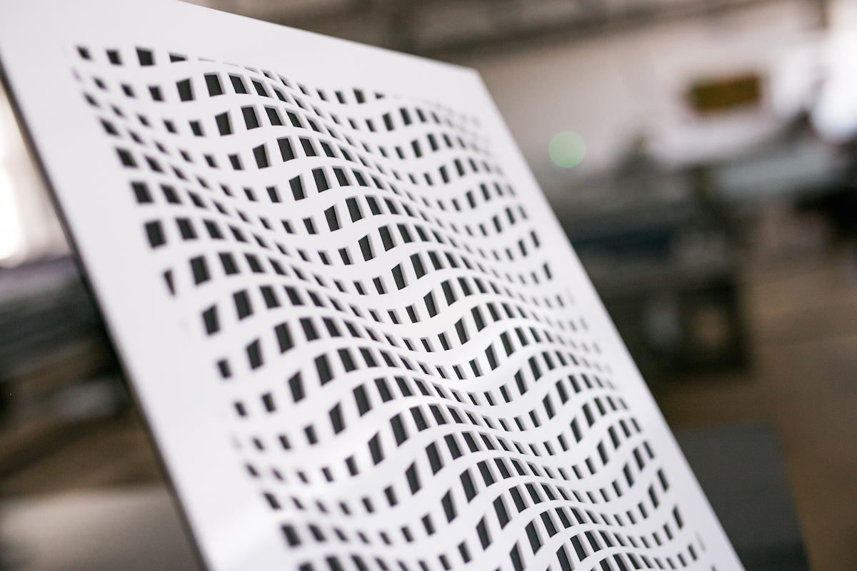 3D efekt - Technológia laserového výseku