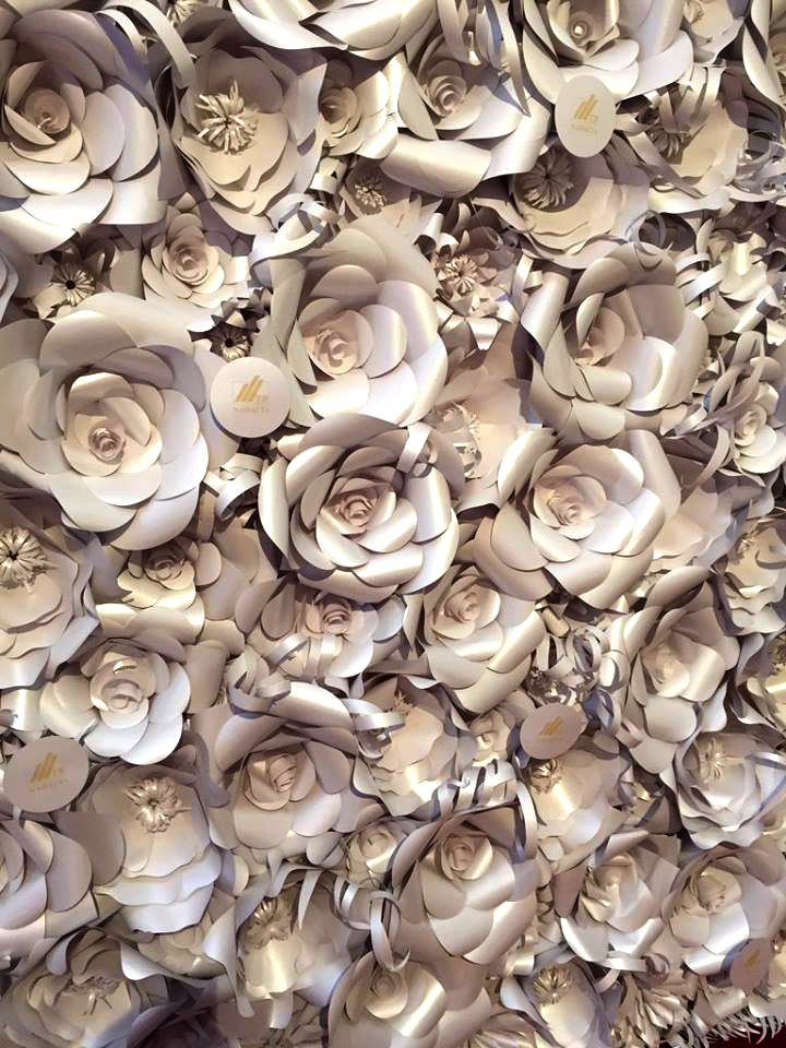 Cena Nadácie Tatra banky kvety z papiera