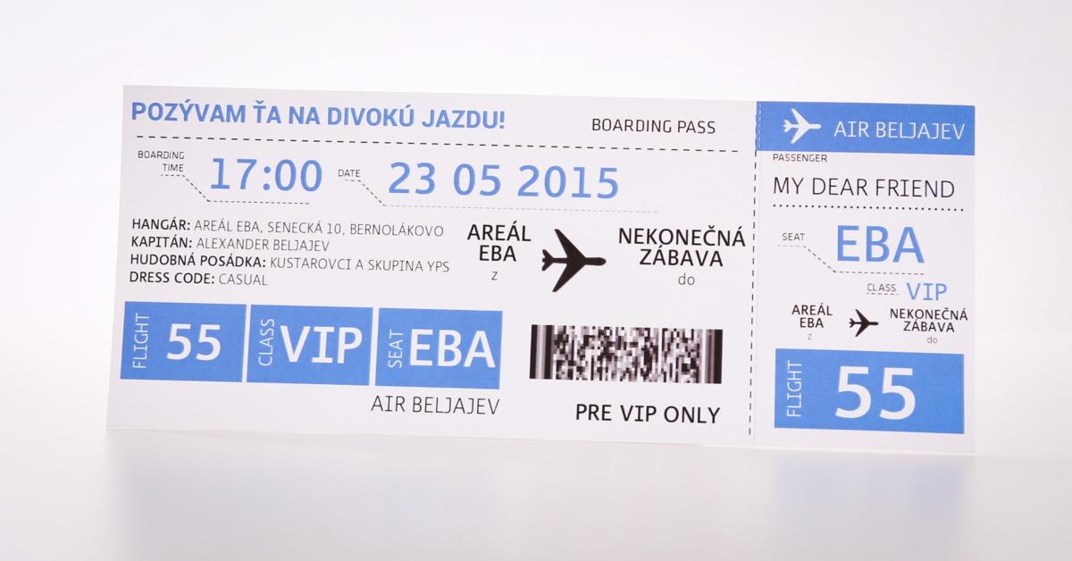 Tlač lístkov na koncerty, podujatia a predstavenia.