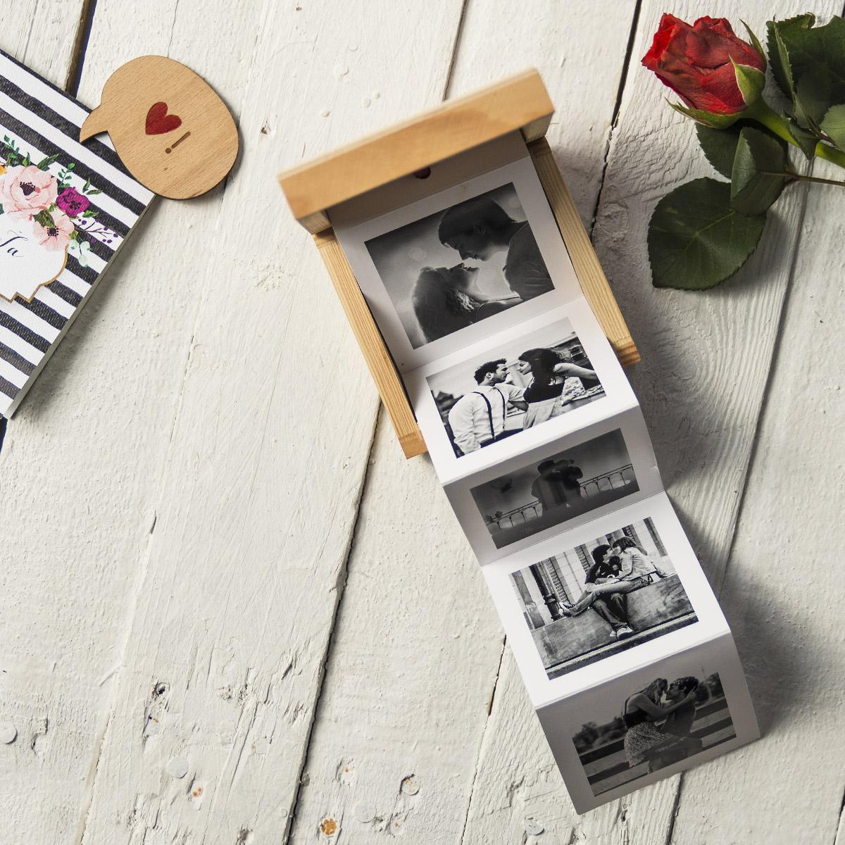 Drevená krabička s vašimi fotografiami